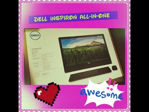 Unboxing Dell Inspiron 23.8 All-in-One Computer