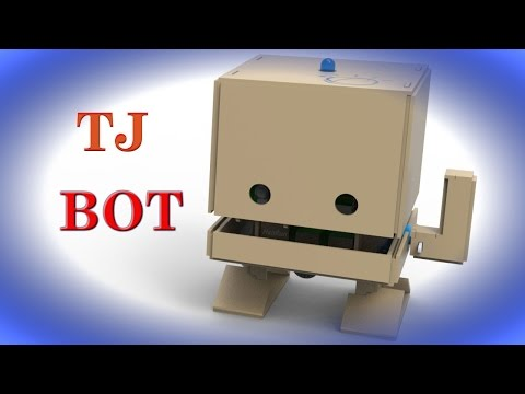 Build your TJ Bot in 15 Minutes. TJ Bot is Cardboard Robot powered by IBM  Watson | QPT