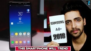Samsung Galaxy A8+(2018) - Unboxing & Overview