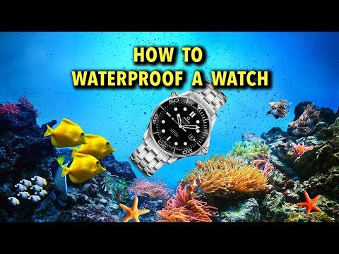 How to Waterproof a Watch