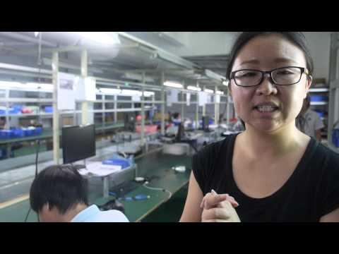 $25 CCTV Factory Tour at Dagro making Security IP Cameras