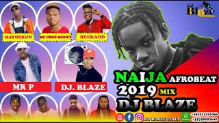 LATEST NAIJA AFROBEAT NEW MONTH MIX 2019 | DJ BLAZE FT WIZKID DAVIDO