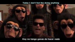 Bruno mars - The Lazy Song [Lyrics y Subtitulos en Español]
