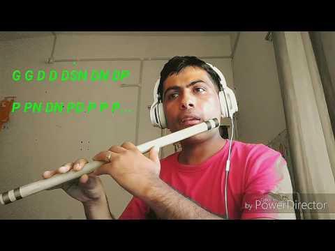 Kusume Rumal flute tutorial by Dinesh