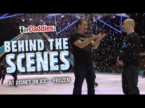 Behind The Scenes At Disney On Ice Frozen !!