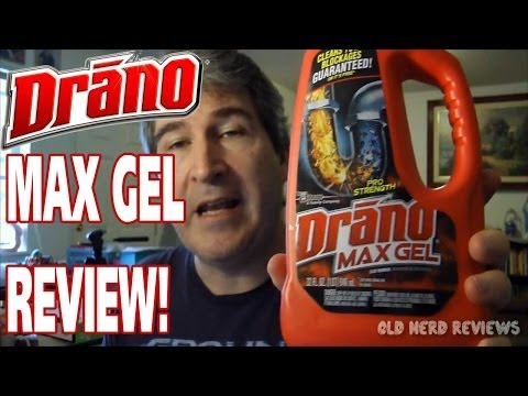 Drano Max Gel Clog Remover REVIEW