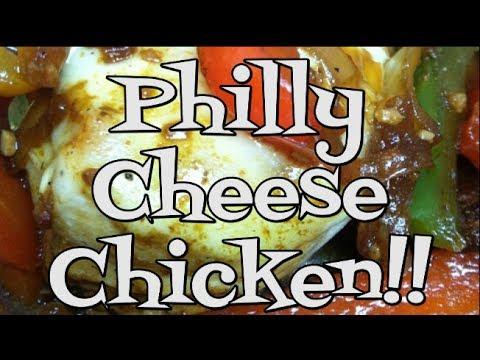 Philly Cheese Chicken!!  Noreen's Kitchen