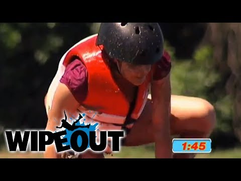 First Person Ever To Beat Big Red Balls | Wipeout HD