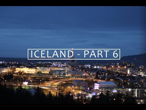 Iceland Part 6 - Perlan (The Pearl) and Reykjavik by night