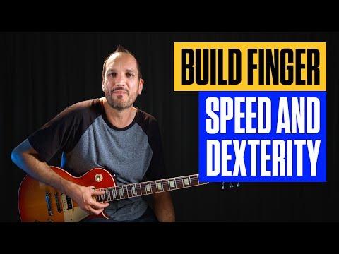 Learn Lead Guitar Finger Strength Speed & Dexterity Exercises | Guitar Lesson | Guitar Tricks