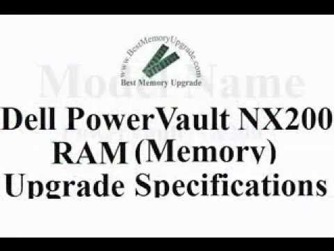 Dell PowerVault NX200 Server Computer System Compatible RAM Memory Upgrade Specifications