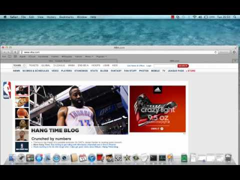How to open tabs in Safari on a Mac