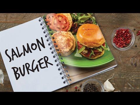 Copper Chef Pan Salmon Burger Recipe