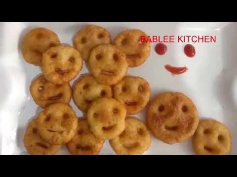 Smiley Cheese Snacks | Potato with cheese Snacks