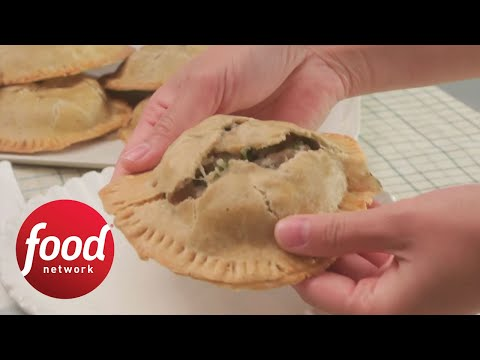 Mini Whole-Wheat Chicken Pot Pies | Food Network