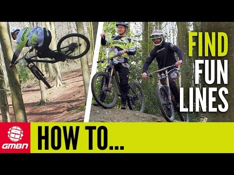 Find The Most Fun Line While Mountain Biking   GMBN How To