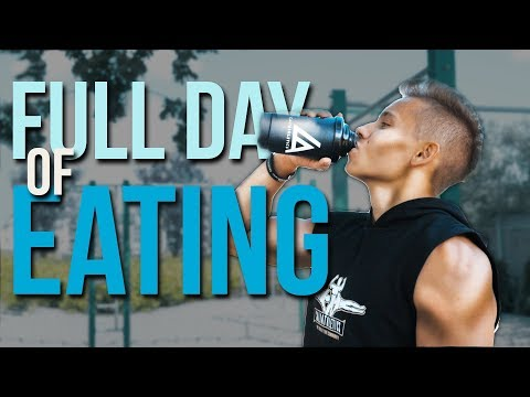 What am I eating to BUILD MUSCLES? Full day of eating