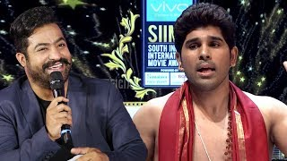 Allu Sirish Making Fun Of NTR