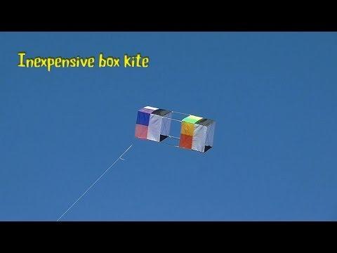 Inexpensive box kite