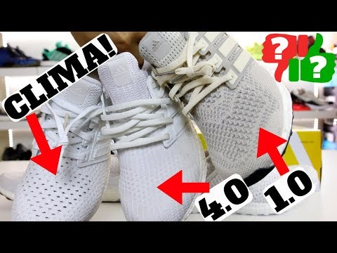 Worth Buying? adidas Ultra Boost CLIMA! Comparison to 1.0 & 4.0 Review