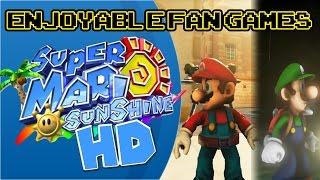 Enjoyable Fan Games - Super Mario Sunshine/Luigi