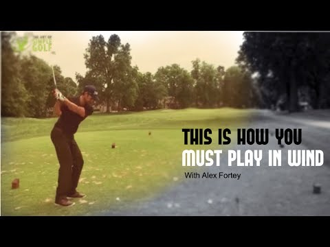 How To Hit The Golf Ball Lower In Wind