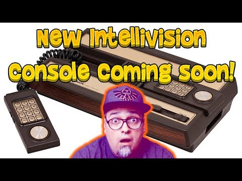 A New Intellivision Console Has Been Announced!