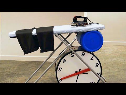 The Dresser - Rube Goldberg Machine for Getting Dressed   Joseph's Machines