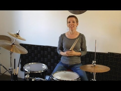 Beginner Drum Lessons 1 ♦ Your First Beat