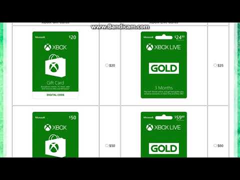 How to Get Free XBOX Live Cards 2017 [WORKING]