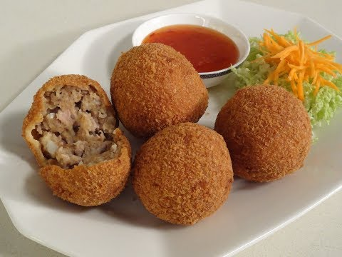 Breaded Chicken Meatballs | Sanjeev Kapoor Khazana