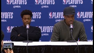 DeMar DeRozan & Kyle Lowry Postgame Interview | Raptors vs Wizards - Game 4 | 2018 NBA Playoffs