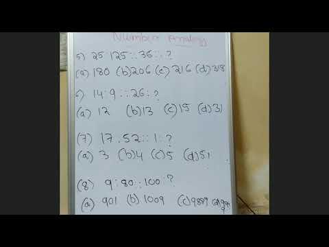 Number analogy in telugu part 2