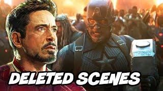 Avengers Endgame Deleted Scenes - Iron Man and Black Widow Alternate Ending Breakdown