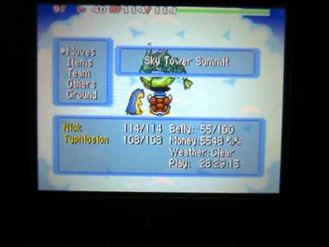 How to Recruit Rayquaza in Pokemon Blue Rescue Team