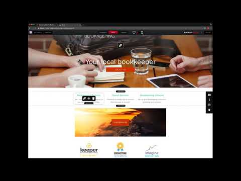 How to build your own bookkeeper website with Rocketspark?