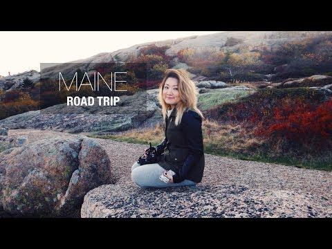MAINE ROAD TRIP | Lobster + Fall Foliage