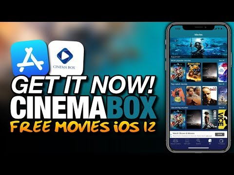 Get IT NOW! CINEMABOX From The APP STORE - FREE MOVIES On iOS 12 For iPhone