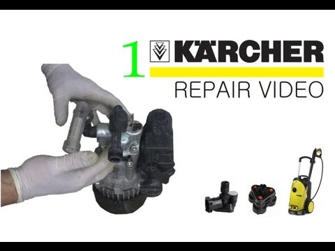 How to FIX a Karcher pressure washer