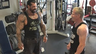 Filming a Rich Piana Video with Jim Arrington #1