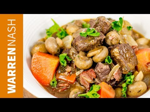 RESTAURANT QUALITY Beef Bourguignon Recipe - Make in a Casserole or Slow Cooker