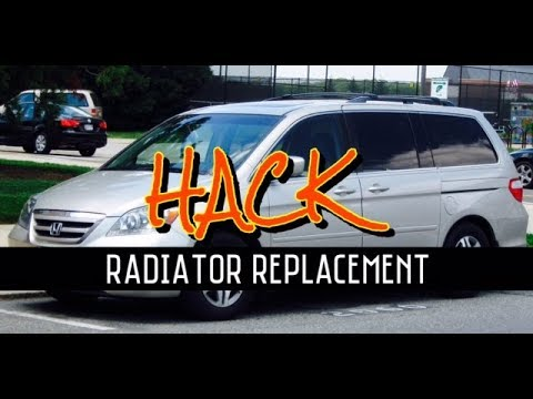 Honda Odyssey Radiator Replacement 1999 2000 2001 2002 2003 2004 Isuzu Oasis