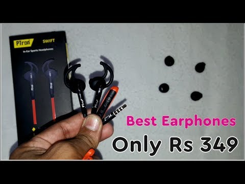 Good Quality Headphones Only 349 Rs. | Ptron SWIFT In Ear Sports Headphones All Details