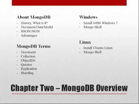 Introduction to NoSQL with Mongodb