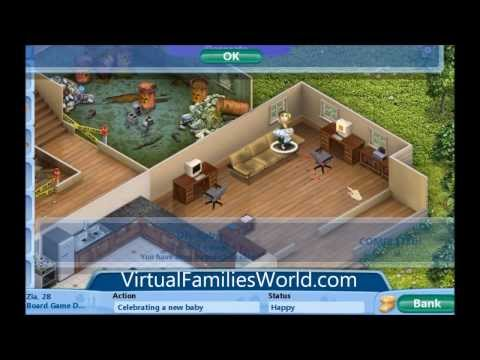 How To Make a Baby On Virtual Families - Cheats, Tips and Walkthroughs