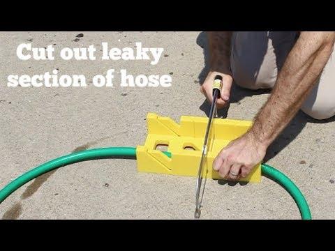 Easy Garden Hose Repair -- by Home Repair Tutor