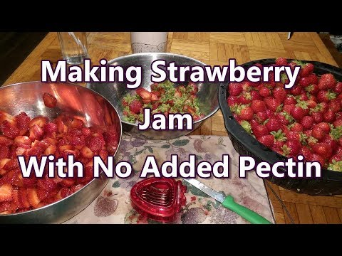 Strawberry Jam With No Added Pectin