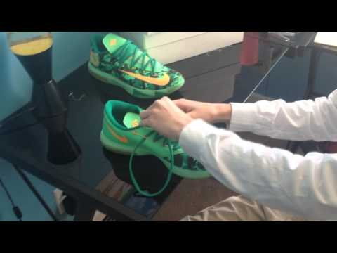 How To Lace KD 6's