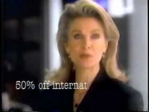 Sprint Commercial from 1993 with Candice Bergen