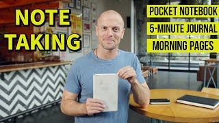 How I Journal and Take Notes | Brainstorming + Focusing + Reducing Anxiety | Tim Ferriss